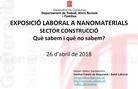 Exposició laboral a nanomaterials sector construcció - Miriam Belloc (ICSSL)